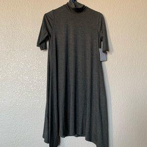 Velvet Torch Gray skater dress